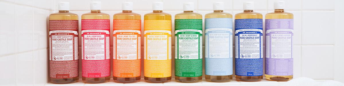 Jabones Liquidos De Castilla Varios Aromas